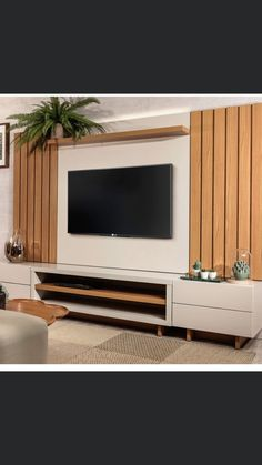 Tv Unit Furniture Design, Tv Unit Interior Design, Tv Cabinet Design, Tv Wall Design, Small Living Rooms, Living Room Decor, Modern Tv Wall Units, Living Room Tv Unit Designs, Home Room Design