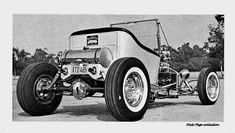 Chevy Ssr, Ford Roadster, T Bucket, Retro Futuristic, The Old Days, Drag Cars, Street Rods, Black N White, Ford Models