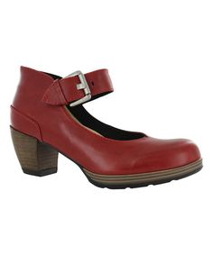 Another great find on #zulily! Red Aya Leather Mary Jane #zulilyfinds