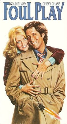 Foul Play - Goldie Hawn, Chevy Chase Burgess Meredith - A shy San Francisco librarian and a bumbling cop fall in love as they solve a crime involving albinos, dwarves, and the Catholic Church. Chevy Chase, Old Movies, Great Movies, Movies Box, Famous Movies, Watch Movies, Love Movie, Movie Tv, Jane Austen