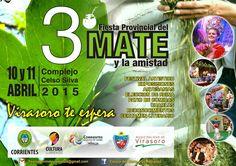 3ra Fiesta Provincial del Mate y la amistad #VamosParaAdelante