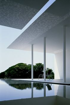 Best Ideas For Architecture and Modern Design : – Picture : – Description Pool at T-House by Katsufumi Kubota Architecture Du Japon, Architecture Cool, Japanese Architecture, Exterior Design, Interior And Exterior, Casa Magna, Photo D'architecture, Haus Am Hang, Design Oriental