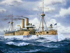 U.S.S. Maine | Battleship USS Maine (1895-1898)