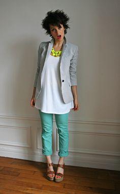 Love the color combinaison !