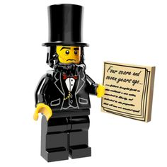 #AbeLincoln #lego #movie #minifigs [just $2.99] #FiveBelow