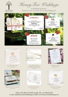 Pre Wedding Stationery, Invitations, save the date, Hen & Stag & Engagment invitations to #CreateABuzz with unique, personalised premium quality stationery that leaves a lasting impression.