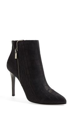 Lanvin love. These black ankle booties are incredible!