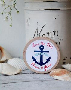 Nautical Save the Date, Printable Save the Date Card, Nautical ...