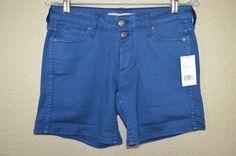 NWT $165 Sz 26 Vince Luce Short Artic Blue Cotton Blend Shorts #Vince #CasualShorts