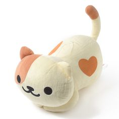picture of Neko Atsume Huge Peaches Plush 1 Laurdiy Stuffies, Pusheen, Cute Stuffed Animals, Dinosaur Stuffed Animal, Crazy Cat Lady, Crazy Cats, Neko Atsume Kitty Collector, Neko Atsume Plush, Minions