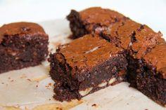 Krebsen und Aluette: Haselnuss Brownies