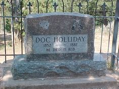 famous graves | Famous Graves / Doc Holiday