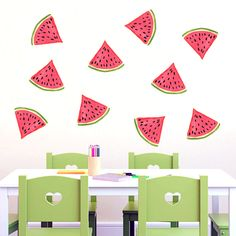 Watermelon - Printed Wall Decal - Sweetums Wall Decals