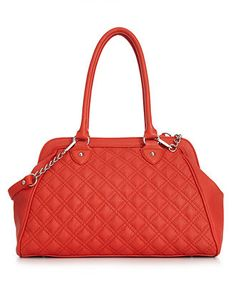 Carlos by Carlos Santana Handbag, Laura Quilted Satchel - Satchels - Handbags & Accessories - Macy's