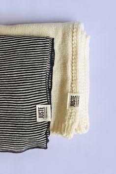 Echarpes @justetextile - Sélection shopping made in France w/ @dressingresp // Où trouver des vêtements responsables ? www.sweetandsour.fr