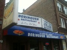 A few blocks from our first apartment in Humboldt Park/Chicago. Home of the original Jibaro - Puerto Rican food . Puerto Rico, Humboldt Park, Puerto Rican Culture, Local Eatery, Puerto Rican Recipes, My Kind Of Town, Best Food Ever, Restaurant Recipes, The Neighbourhood