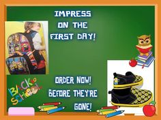 Order in time for there first day of school ! www.youravon.com/jgowen