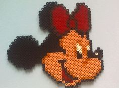 Minnie Disney - hama perler beads
