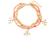 Pink Coral Reef Necklace | Little Treasures | One Kings Lane