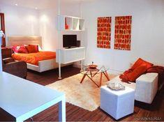 Дизайн квартиры студии 25 кв.м фото