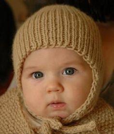 Tiny Earflap Hat   AllFreeKnitting.com