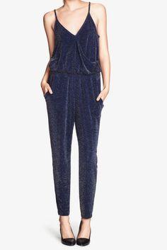 H&M sparkling jumpsuit
