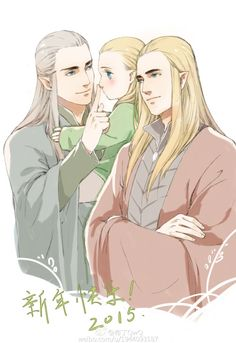 Oropher,legolas and thranduil ❤❤ That's What I'm Tolkien About More @ http://groups.google.com/group/FantasyMagie & http://groups.yahoo.com/group/fantasy_forum Like us pls! http://www.facebook.com/ComicsFantasy & http://www.facebook.com/groups/ArtandStuff