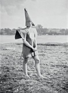 Strange habits: Britain's oddest youth movement – in pictures. Cecil Watt Paul Jones (aka Old Mole) as Gleemaster, 1928