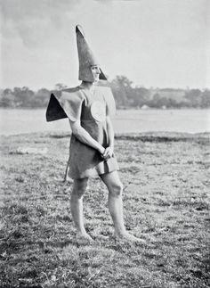 Strange habits: Britain's oddest youth movement – in pictures. Cecil Watt Paul Jones (aka Old Mole) as Gleemaster, 1928
