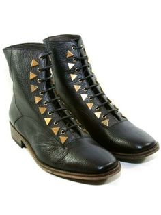 These Dreamcore Boots by New Kid Will Have You Marching in Style #camo #shoes trendhunter.com