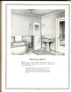 Building with assurance ~ Morgan Woodwork Organization - Morgan Millwork; 1940s Home, Craftsman Bungalows, Mirror Door, Kitchen And Bath, House Plans, Bathtub, Floor Plans, Woodworking, Doors