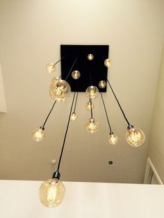 Maatwerk Lampen – House Entrance, Entrance Hall, Home Living Room, Living Room Designs, Latest Tech Gadgets, My Room, Lightning, New Homes, Chandelier