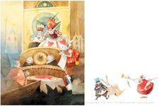 """Kim Min Ji illustration for """"Alice in Wonderland""""."""