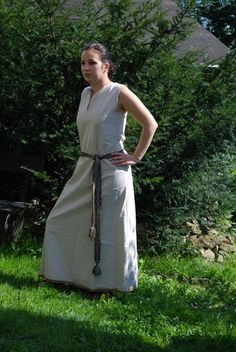 linen dress. - Othala Craft