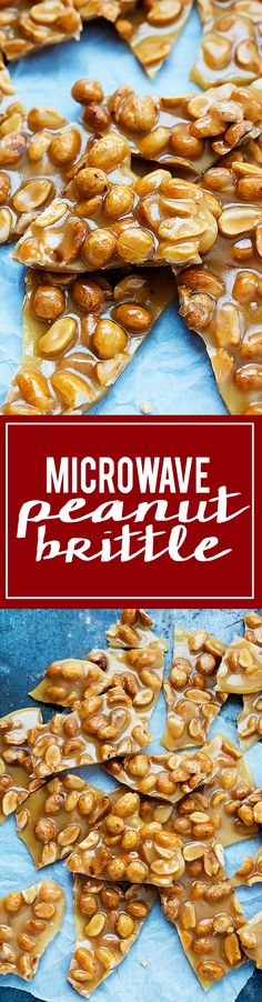Microwave Peanut Brittle | Creme de la Crumb