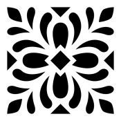 Stencils of tile designs for floor tiles, wall tiles and other DIY home decor projects. Stencil Fabric, Stencil Patterns, Stencil Designs, Fabric Painting, Stenciling, Diy Home Decor Projects, Art Projects, Custom Stencils, Painted Floors