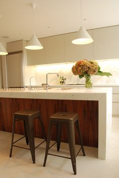 Kitchen Island Bench arabescato' marble island bench - mint kitchens vic : residential