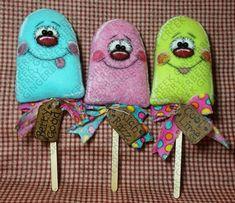 Oh Popsicle palos patrón 222 patrón de muñeca por GingerberryCreek