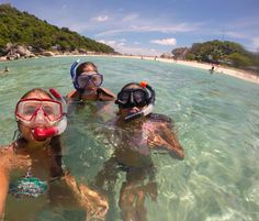 Snorkelling on Koh Nanguyan, a tiny island right next to Koh Tao