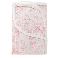Amazon.com : Amy Coe Limited Edition Pink Circus Toile Baby Blanket : Toddler Blankets : Baby