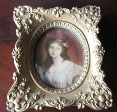 Vintage Victorian CECILE VOLAGE CAMEO Photo by RareEarthProducts, $18.00
