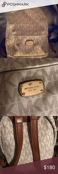 Michael Kors Backpack/Purse Brand newish, only used for 4 months. I used it as a purse. Michael Kors Bags Backpacks