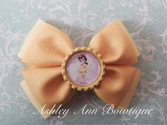 Disney Princess Belle Yellow Dazzle Stacked by AshleyAnnBowtique