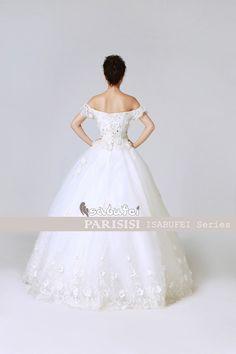 2012 Nuevo sweet hymade Flors beaded Encaje Puff vestidos de novia bridal gown Estilo