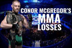 Conor McGregor's MMA Losses.