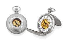 JFK Bicentennial Half Dollar Pocket Watch & Chain - Executive Gift Shoppe