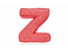 Pillow – letter Z