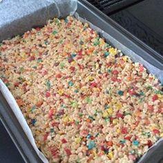 Funfetti® Cake Batter Rice Krispies® Treats Recipe - Allrecipes.com