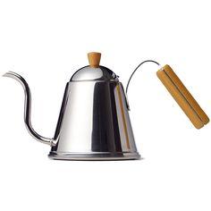 Aoyashi Wood Handle Kettle - Sightglass Coffee