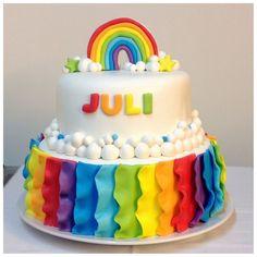 tortas de arcoiris - Buscar con Google